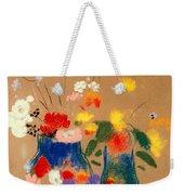 Three Vases Of Flowers Weekender Tote Bag