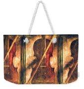 Three Violins Weekender Tote Bag by Bob Orsillo