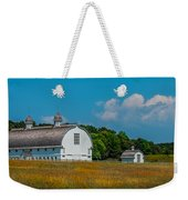Three White Barns Weekender Tote Bag