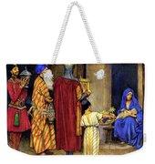 Three Wise Men Bearing Gifts Weekender Tote Bag