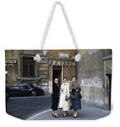 Three Women Mid Century Weekender Tote Bag