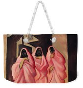 Three Women On The Street Of Baghdad Weekender Tote Bag