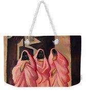 Three Women On The Street Of Baghdad Weekender Tote Bag