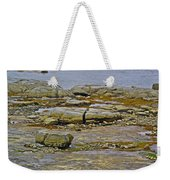 Thrombolites Up Close In Flower's Cove-nl Weekender Tote Bag