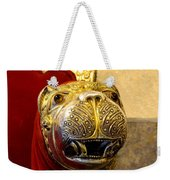 Throne Detail Udaipur City Palace India Weekender Tote Bag
