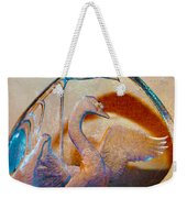 Through A Glass Goose Darkly Weekender Tote Bag