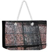 Through A Window Screen Weekender Tote Bag