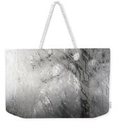 Through Glass -- A Tree In Winter Weekender Tote Bag