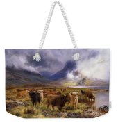 Through Glencoe By  Way To The Tay Weekender Tote Bag