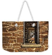 Through Doors And Windows - Abandoned House Weekender Tote Bag