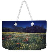 Through The Blooming Fields Weekender Tote Bag