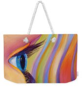 Through The Eyes Of A Child Weekender Tote Bag by Sandi Whetzel