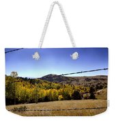 Through The Fence Weekender Tote Bag
