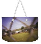 Through The Fence Neo Weekender Tote Bag