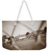 Through The Fence Never To Be  Weekender Tote Bag