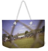 Through The Fence Pastel Chalk 2 Weekender Tote Bag