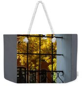 Through The Fence Window Weekender Tote Bag