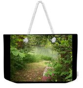 Through The Forest At Water's Edge Weekender Tote Bag