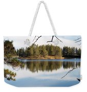 Through The Frame Weekender Tote Bag