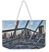 Through The Glass At Philly Weekender Tote Bag