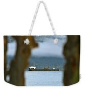 Through The Hole Weekender Tote Bag