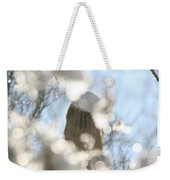 Through The Ice Weekender Tote Bag