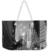 Through The Looking Glass In Black And White Weekender Tote Bag