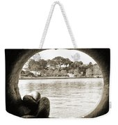 Through The Porthole Weekender Tote Bag
