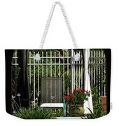 Through The Potico Weekender Tote Bag