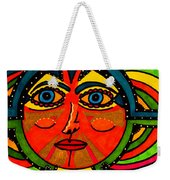 Through The Prism Of The Sun Weekender Tote Bag