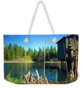 Through The Reeds At Grace Lake Weekender Tote Bag