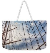 Through The Rigging Weekender Tote Bag