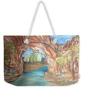 Through The Rock Window Weekender Tote Bag