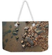 Through The Rocks To The Lake Weekender Tote Bag