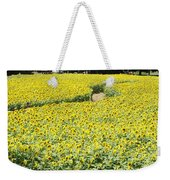 Through The Sunflowers Weekender Tote Bag