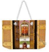 Through The Temple Doors India Weekender Tote Bag