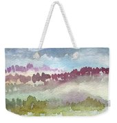Through The Trees Weekender Tote Bag by Linda Woods