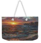 Through The Vog - Hawaii Beach Sunset Weekender Tote Bag