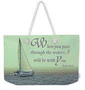 Through The Waters Weekender Tote Bag