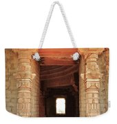 When Windows Become Art - Jain Temple - Amarkantak India Weekender Tote Bag