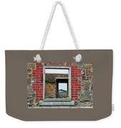 Through Windows At Charles Fort, Ireland Weekender Tote Bag
