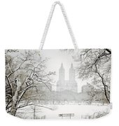 Through Winter Trees - Central Park - New York City Weekender Tote Bag