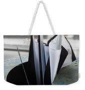 Throw Away Your Umbrellas The Rain Has Stopped Weekender Tote Bag