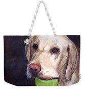 Throw The Ball Weekender Tote Bag