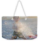 Throwing Sand Weekender Tote Bag