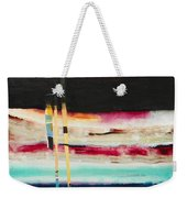 Thru The Dark Weekender Tote Bag