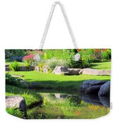 Thula Garden's Water Reflections Weekender Tote Bag