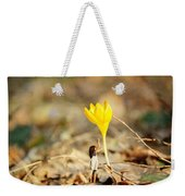Thumbelina And The Crocus Weekender Tote Bag