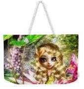 Thumbelina Weekender Tote Bag by Mo T