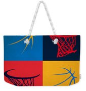 Thunder Ball And Hoop Weekender Tote Bag